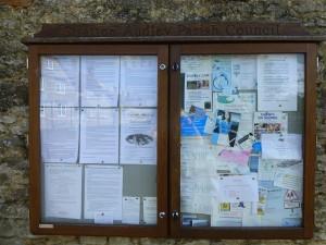 Parish Notice board